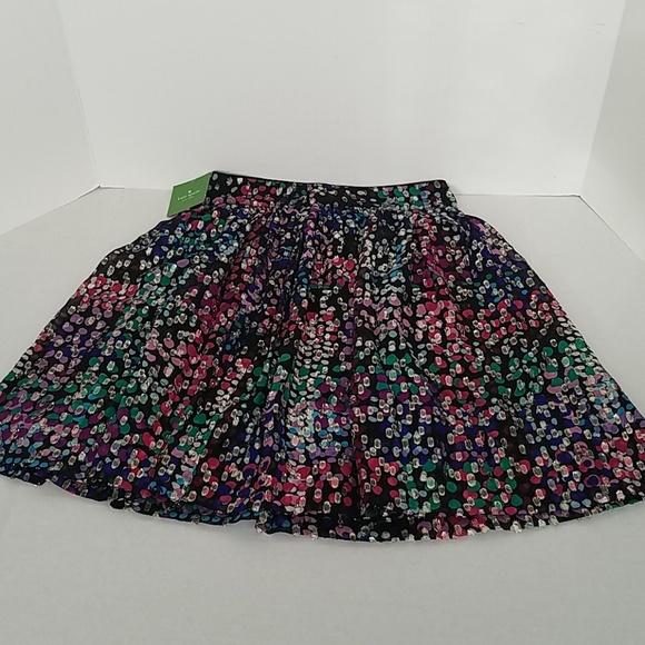 kate spade Dresses & Skirts - Kate Spade Make Magic Metallic Dot Skirt
